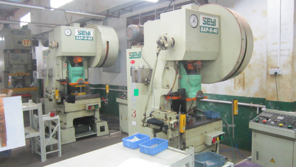40 ton continuous die high speed punch
